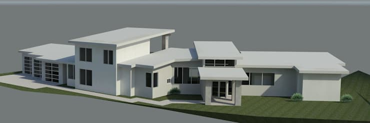 3D rendering 住家前景:   by monaco design