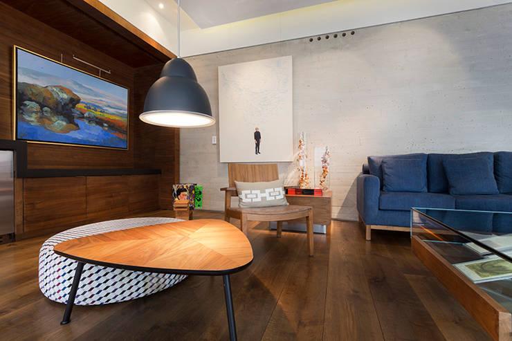 Portafolio Fotografía de Arquitectura & DI: Salas de estilo  por Kroma Photo