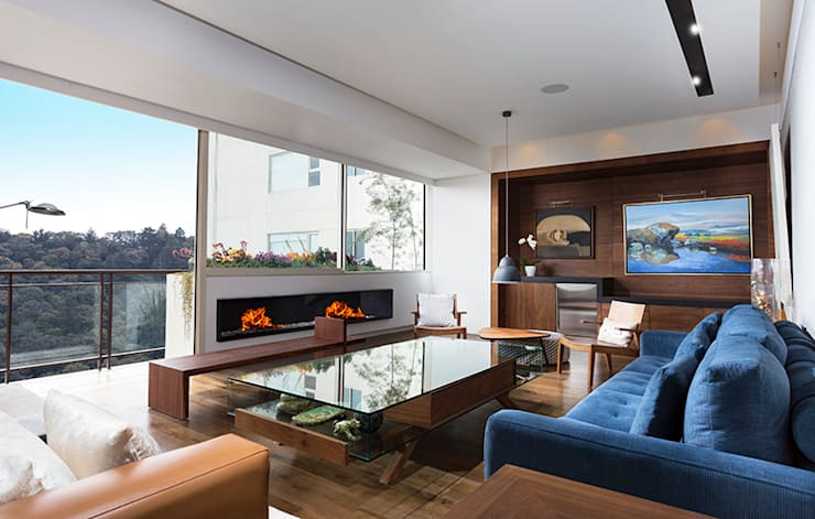 modern Living room by Kroma Photo