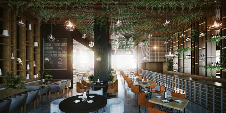 Sonora Grill Miyana: Restaurantes de estilo  por PASQUINEL Studio