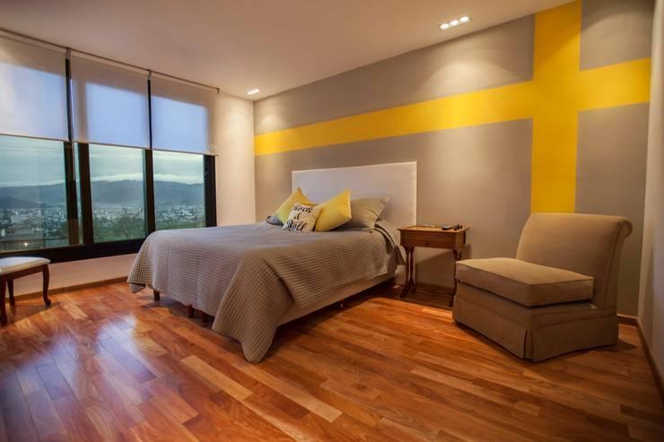 غرفة نوم تنفيذ Horizontal Arquitectos