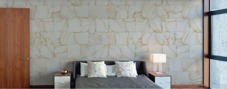 Cantera Slate Bahia: Paredes y pisos de estilo moderno por ENFOQUE CONSTRUCTIVO