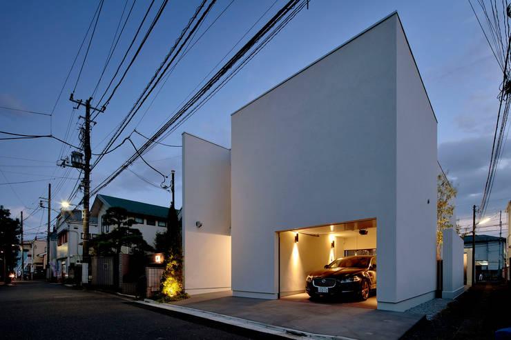 浜田山の家: 遠藤誠建築設計事務所(MAKOTO ENDO ARCHITECTS)が手掛けた家です。