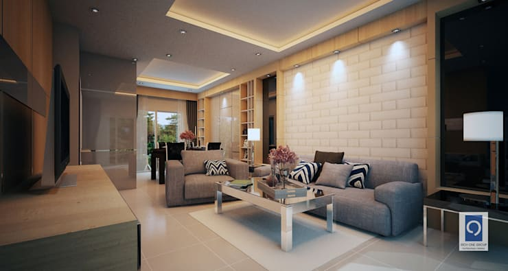 10 งานบิ้วท์อินห้องรับแขก ที่สวยลงตัวกับบ้านของคุณ:   by ริชวัน กรุ๊ป