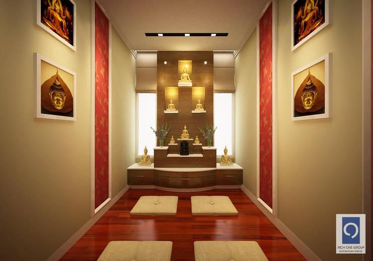 7 งานออกแบบห้องพระ เสริมสร้างบารมีแก่คุณ:   by ริชวัน กรุ๊ป