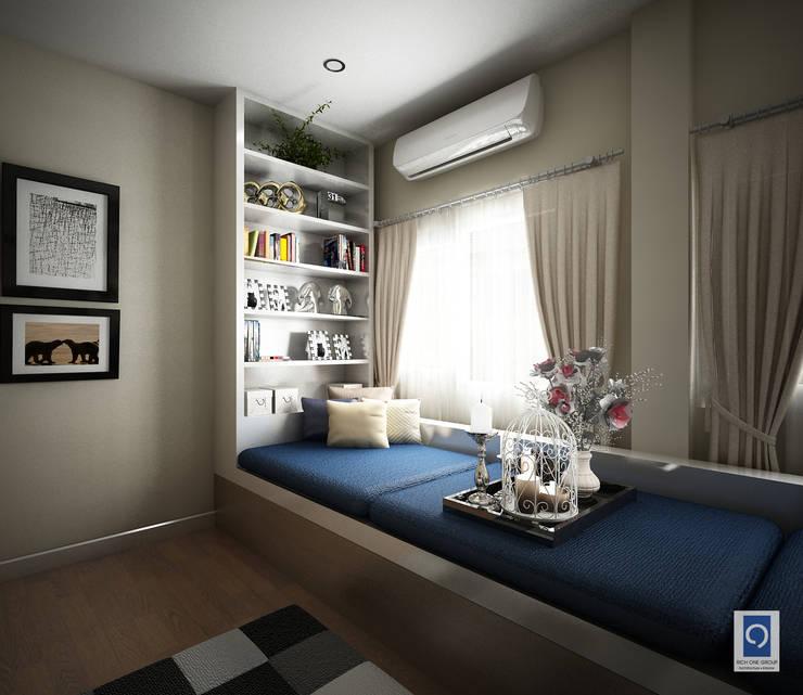 5 งานออกแบบห้องรับแขก ในความเรียบง่ายแต่แฝงไว้ด้วยความงาม:   by ริชวัน กรุ๊ป