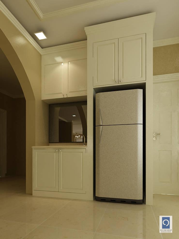 รูปงานออกแบบบ้านเดี่ยว ที่ตกแต่งทุกมุมภายในบ้านให้คุณหลง:   by ริชวัน กรุ๊ป