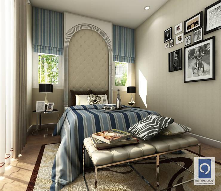 6 ห้องนอนลายไม้ ที่แฝงไว้ด้วยความคลาสสิคตลอดกาล:   by ริชวัน กรุ๊ป