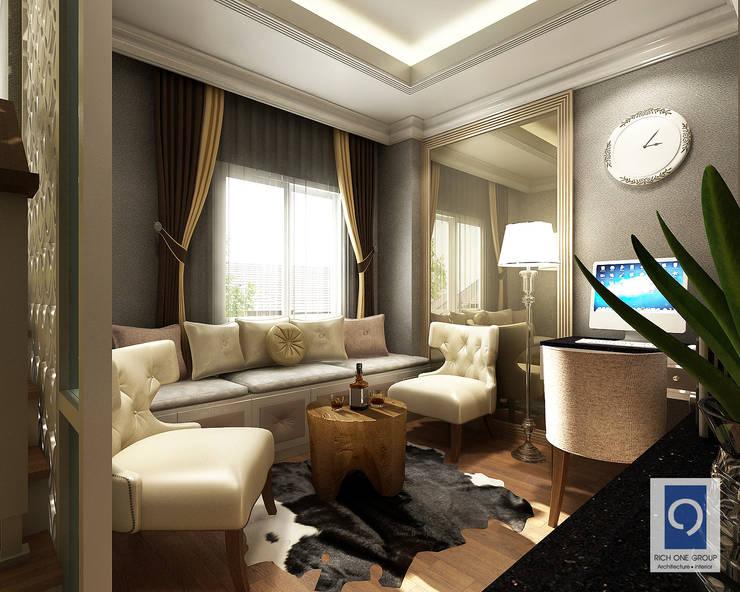 7 งานออกแบบห้องรับแขกในบ้าน ที่ทำให้ไม่อยากไปไหน:   by ริชวัน กรุ๊ป