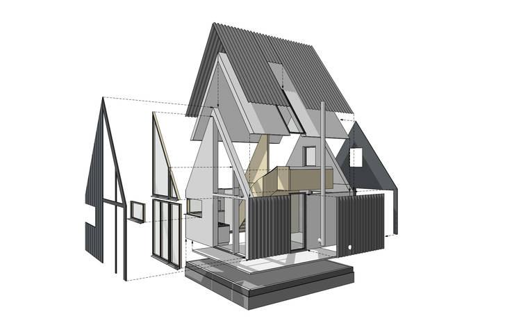 Exploded view:   door Kwint architecten