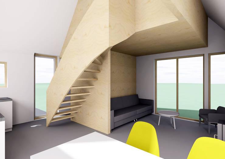Interieur 1:   door Kwint architecten