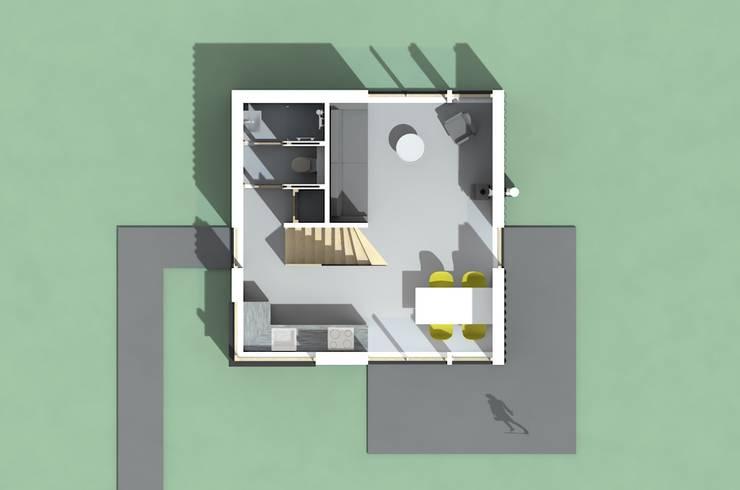 Plattegrond beganegrond:   door Kwint architecten