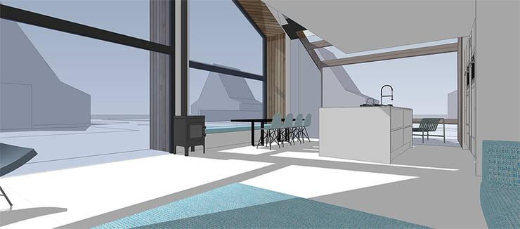 houtskeletbouwwoning:   door WESTERBREEDTE architecten