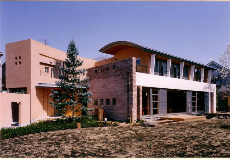 外観全景 地中海風 家 の 豊田空間デザイン室 一級建築士事務所 地中海 砂岩