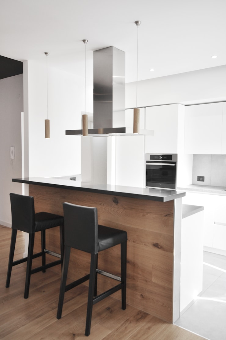 casa AB: Cucina in stile  di degma studio, Moderno