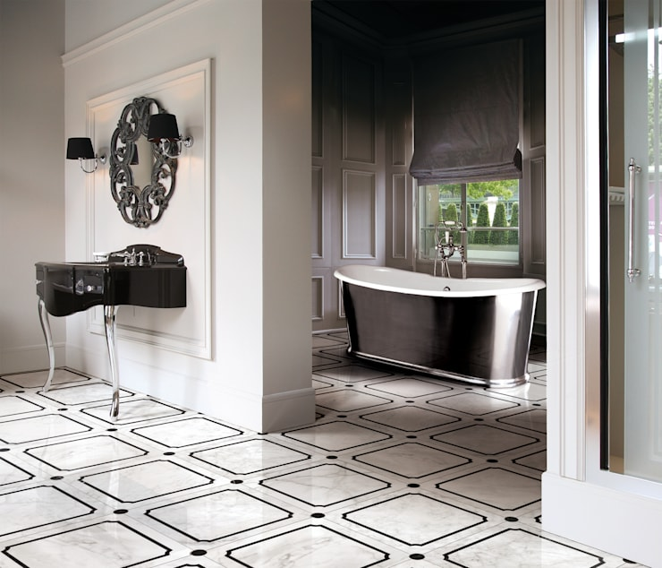 Baños de estilo  por Devon&Devon UK