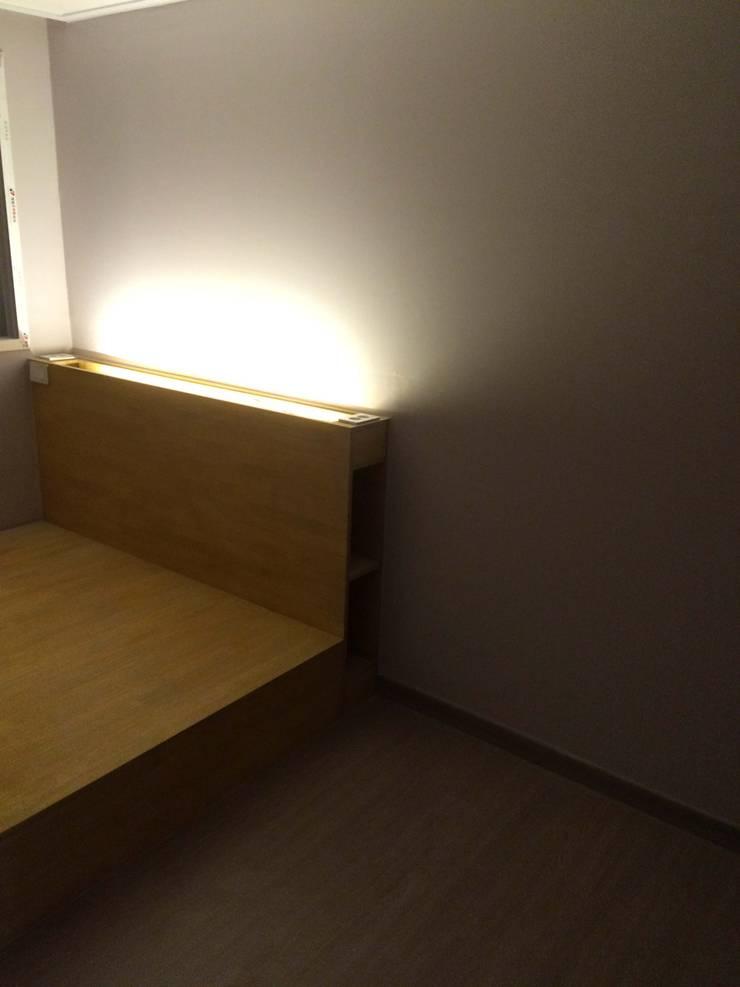 하월곡동 동신아파트: 다임디자인의  침실