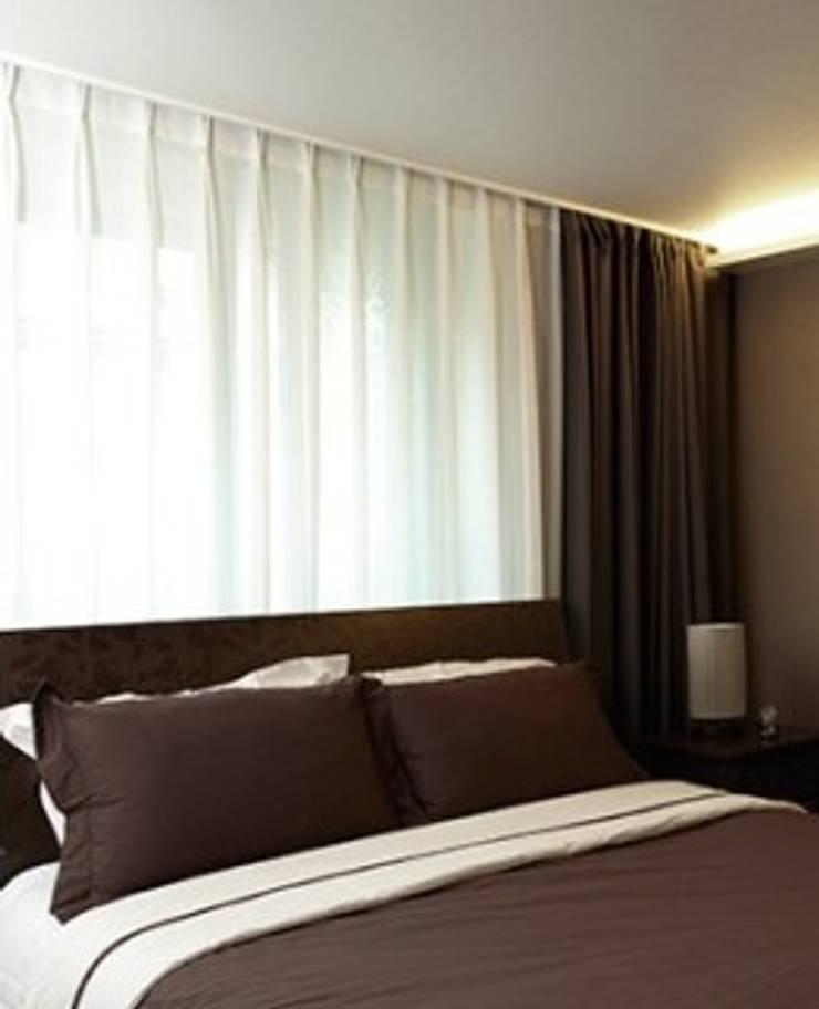 분당 선경아파트: 다임디자인의  침실