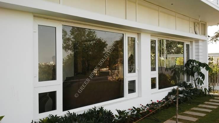 Elegant Windows & Doors :  uPVC windows by Green Home Solution