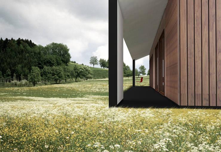 Terraza : Jardines de estilo  por Smartlive Studio
