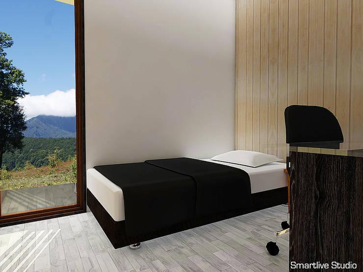 Dormitorio de visitas : Dormitorios infantiles de estilo  por Smartlive Studio