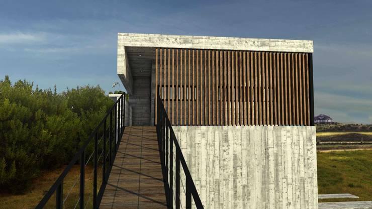 Casa RP, Costa Esmeralda: Casas de estilo  por TC Estudio