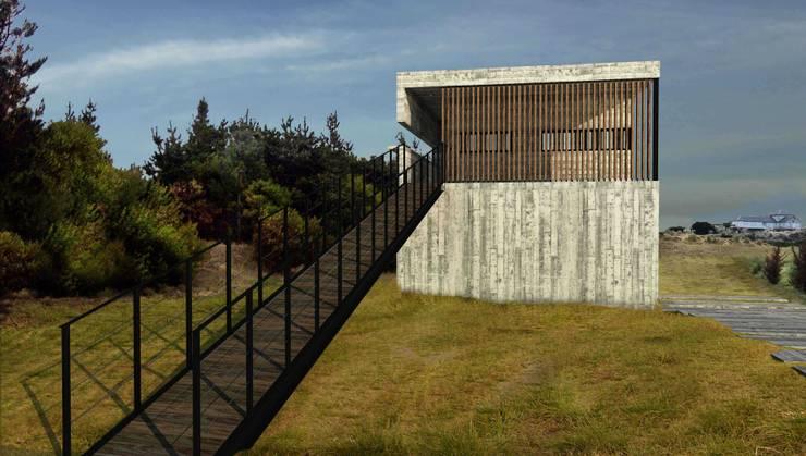 Casa RP, Costa Esmeralda: Casas de estilo moderno por TC Estudio