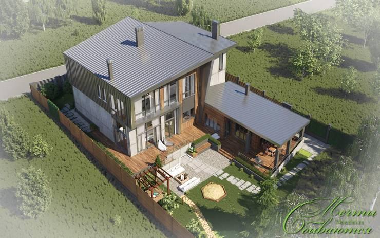 country Houses by Компания архитекторов Латышевых 'Мечты сбываются'