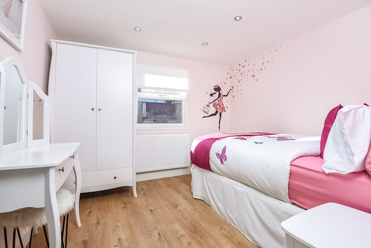 Girls Bedroom 2:   by Millennium Interior Designers