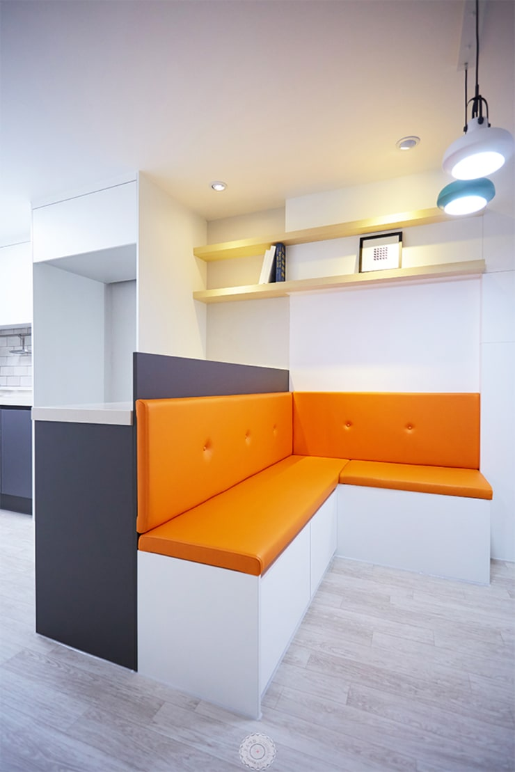 프로젝트-중계동 경남롯데상아A 27PY: 제이앤예림design의  다이닝 룸