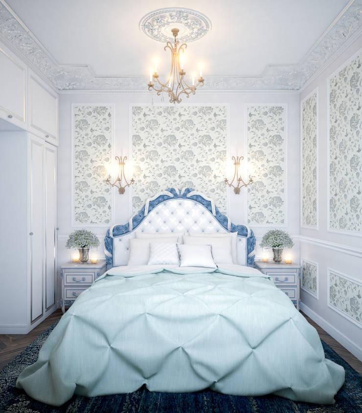 Une vie d'amour… : Спальни в . Автор – Marina Sarkisyan, Классический