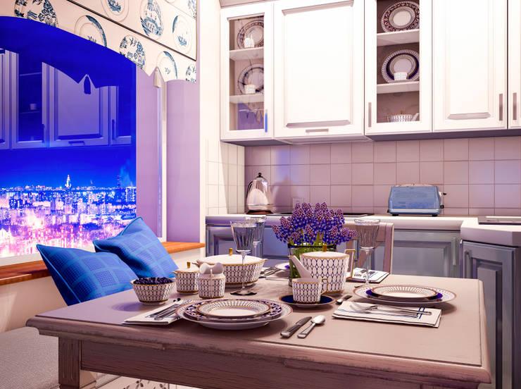 Une vie d'amour… : Кухни в . Автор – Marina Sarkisyan, Классический