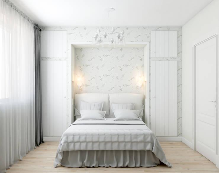 Просто хорошо..: Спальни в . Автор – Marina Sarkisyan, Скандинавский