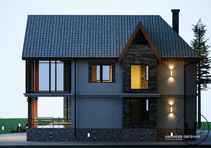 scandinavian Houses by Iv-Eugenie