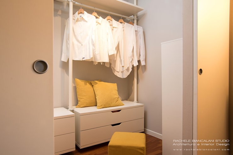 Dressing room by Rachele Biancalani Studio