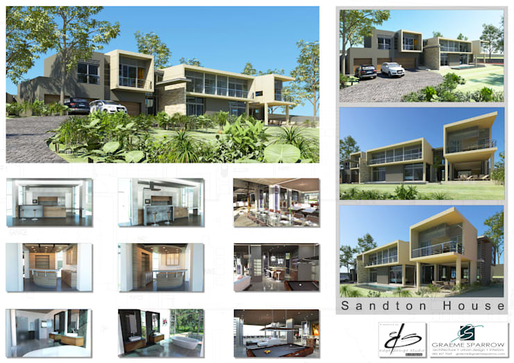 Presentation for Graeme Sparrow Architects:  Houses by Edge Design Studio Architects