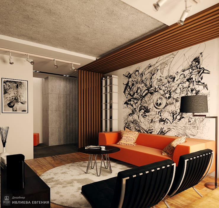 Salas de estilo  por Iv-Eugenie