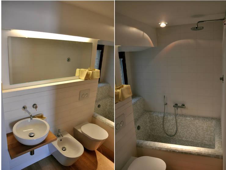 حمام تنفيذ Matteo Uccellini  +mu architecture