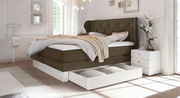"""Boxspringbett """"Belica"""": landhausstil Schlafzimmer von Betten.de"""