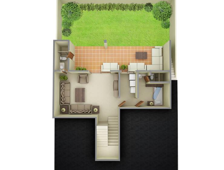 Casa Bosquencinos:  de estilo  por nuk arquitech