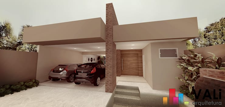 modern Houses by VALi Arquitetura