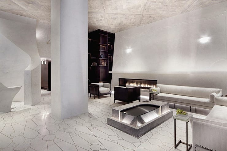 Lobby Marmara Park Avenue Hotel:  Hotels by Joe Ginsberg Design