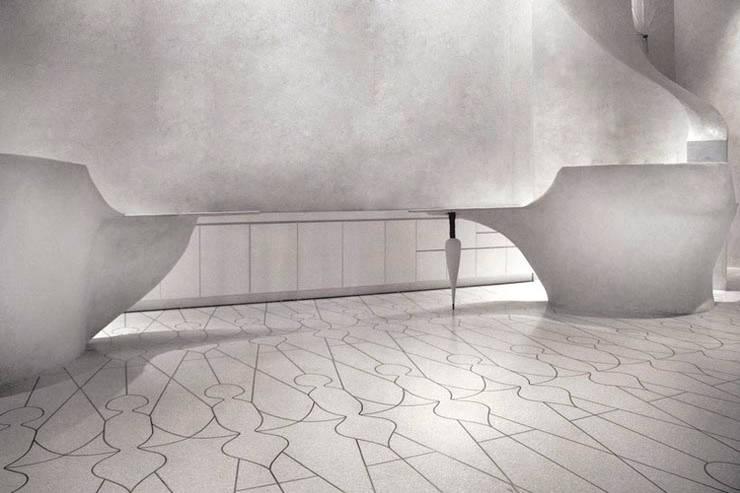 Reception Area - Lobby Marmara Park Avenue Hotel:  Hotels by Joe Ginsberg Design