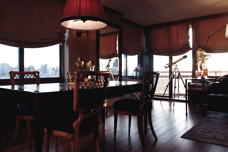 Dining:  Dining room by Joe Ginsberg Design