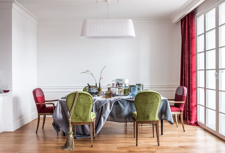 Dining room by Atelier Interior