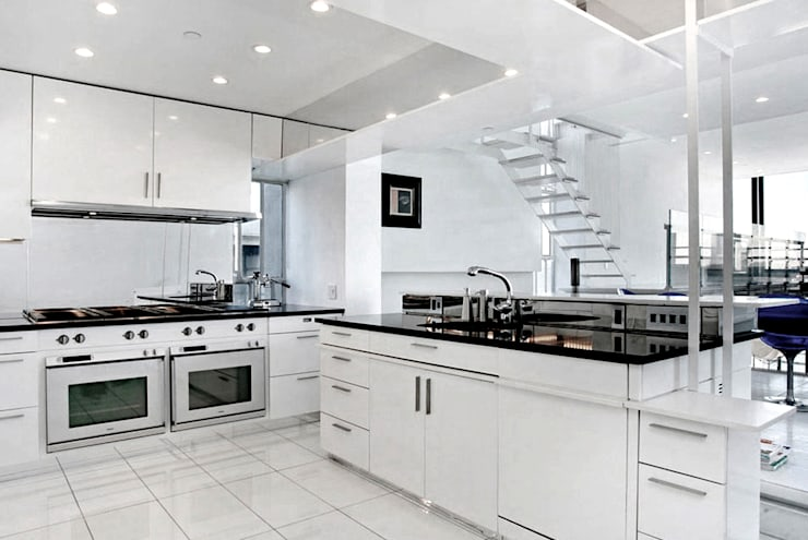 Kitchen - Historic Preservation - Paul Rudolph Estate:  Kitchen by Joe Ginsberg Design