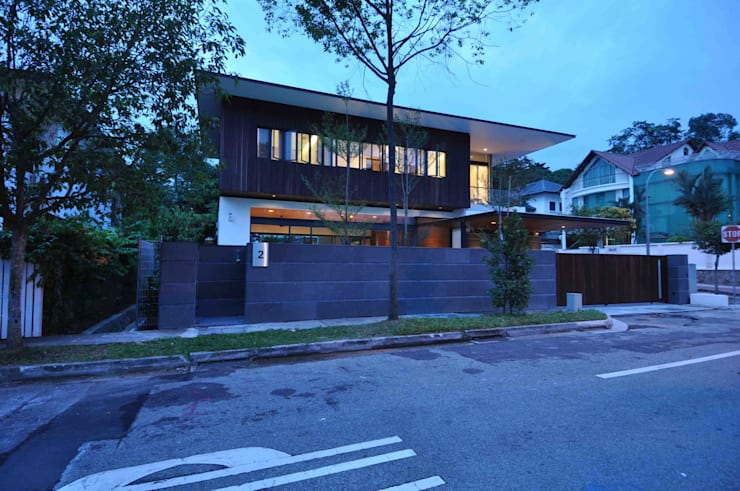 Sunset House:  Houses by ming architects