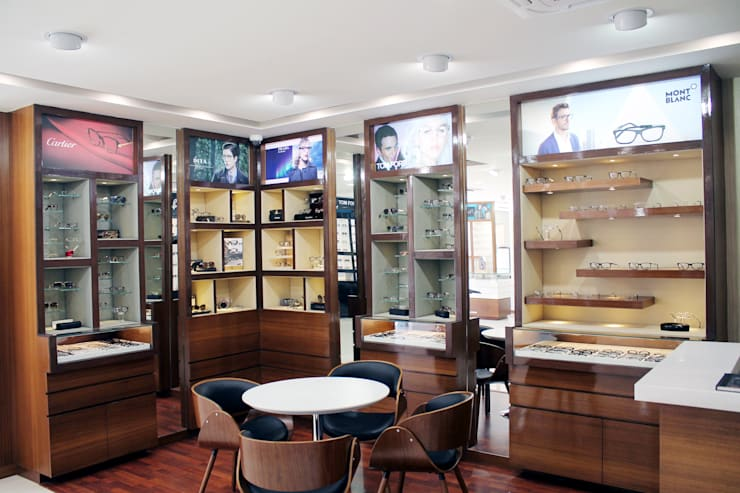 Premium Eyewear Section:  Commercial Spaces by ServiceBELL Solutions PVT Ltd