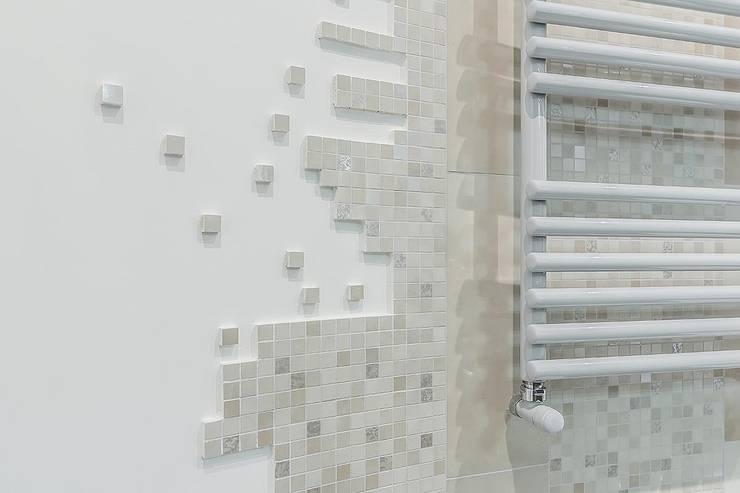 Mosaico bagno idee rivestimenti doccia moderna