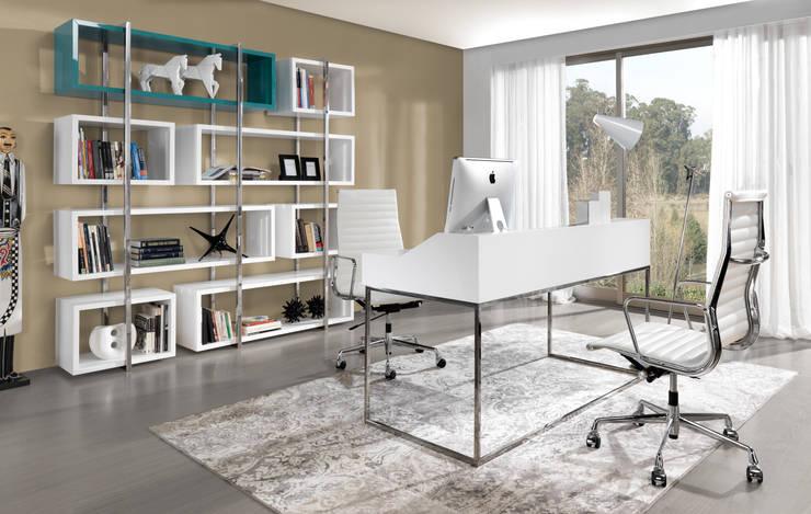 Ambiente Edge by Laskasas: Escritórios e Espaços de trabalho  por Laskasas,